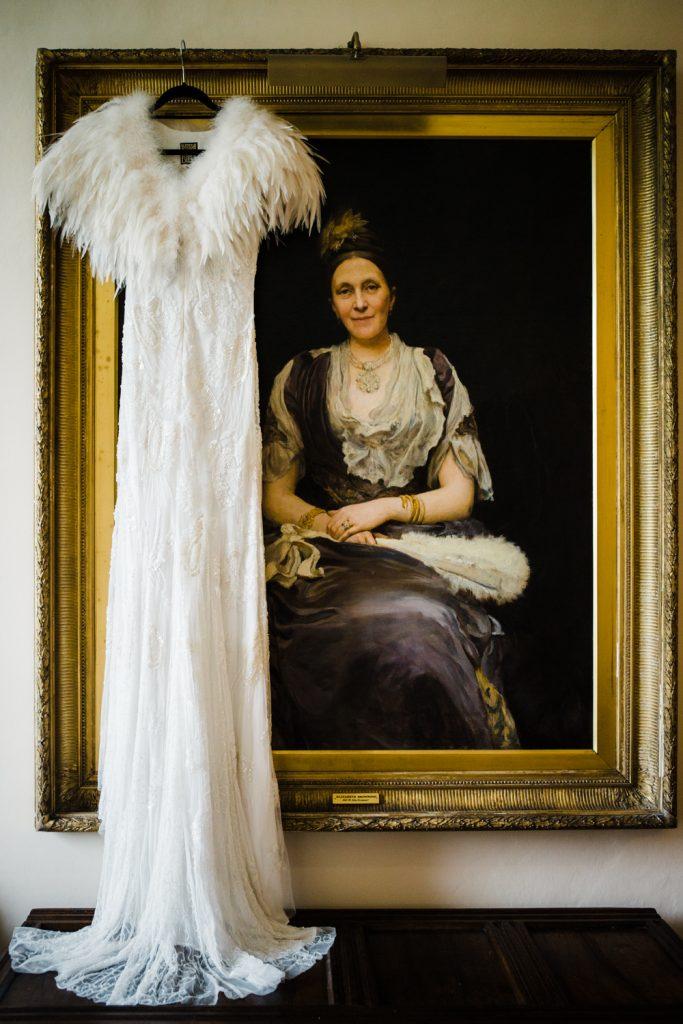 Eliza Jane Howell wedding dress for an elegant spring Iscoyd Park wedding