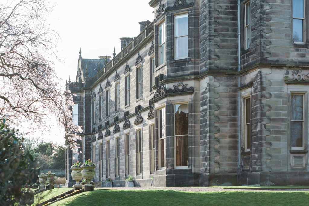 Sandon Hall, Staffordshire a stately home available for exclusive hire for weddings