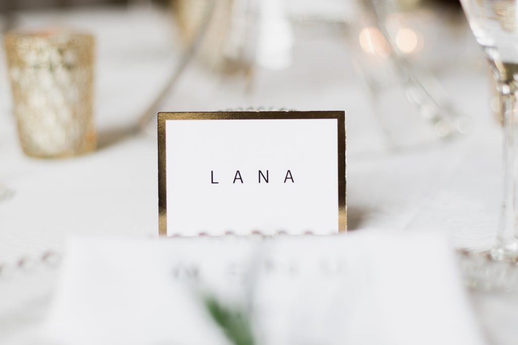 Wedding stationery details by fine art wedding photographer based in the UK. Gold foil wedding stationery by e.y.i Love.