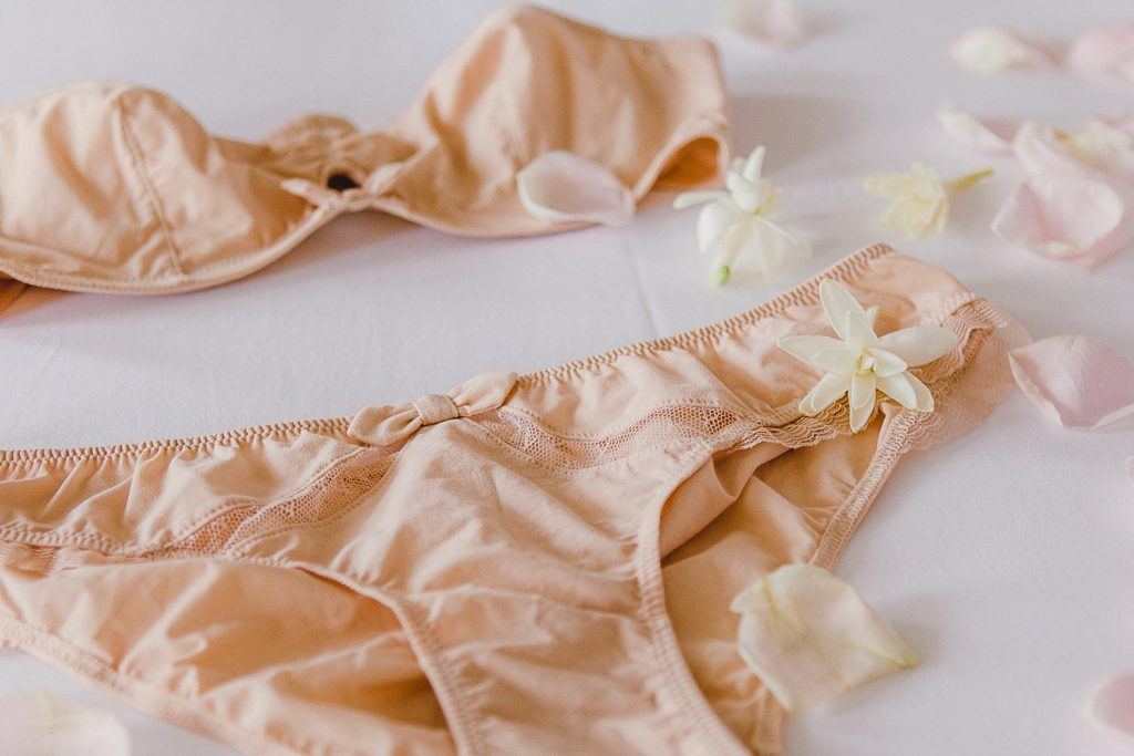Bridal lingerie ideas from a boudoir inspiration shoot at Iscoyd Park photo