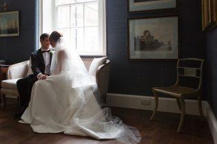 Black Tie Wedding at Iscoyd Park Photo