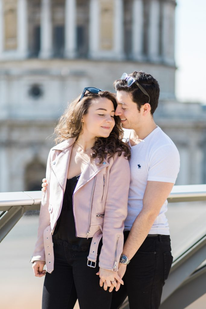 Spring Engagement Session in London by Cheshire Wedding Photographer