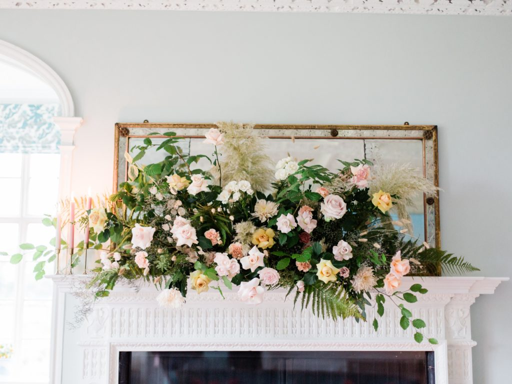Floral inspiration for a Dorfold Hall wedding by Flowers by Breige