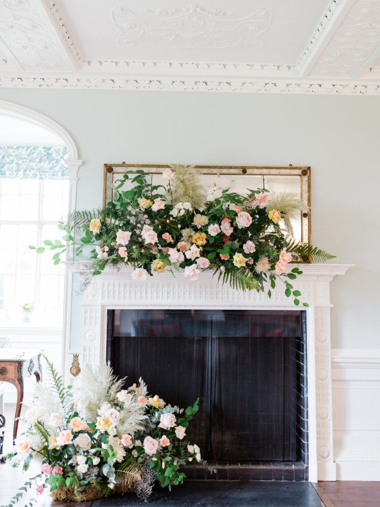 Fine Art Wedding Photographer in the UK featuring Flowers by Breige at Dorfold Hall in Cheshire