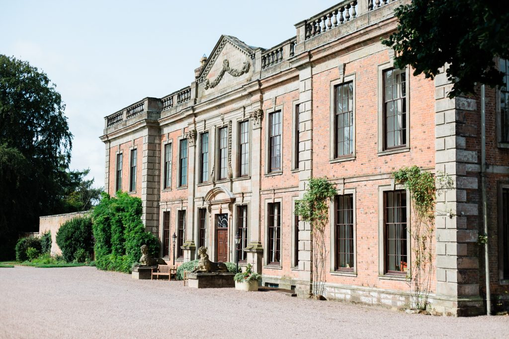 Country House wedding at Oakley Hall in Shropshire on the Cheshire Border
