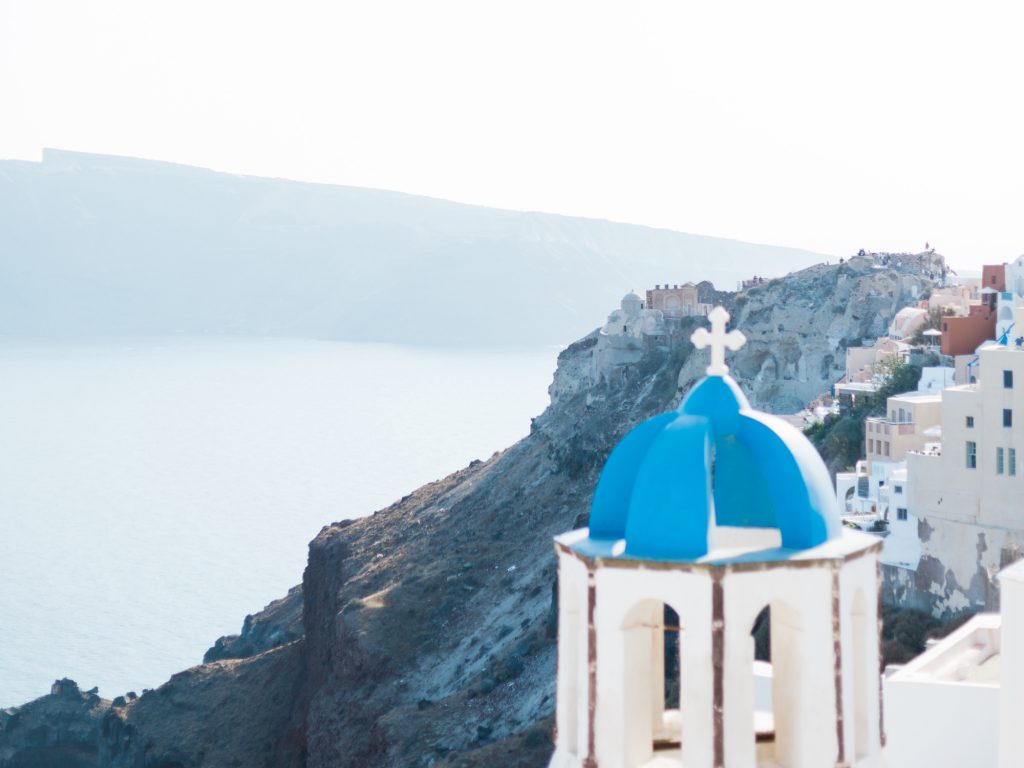 Oia for a destination wedding in Santorini