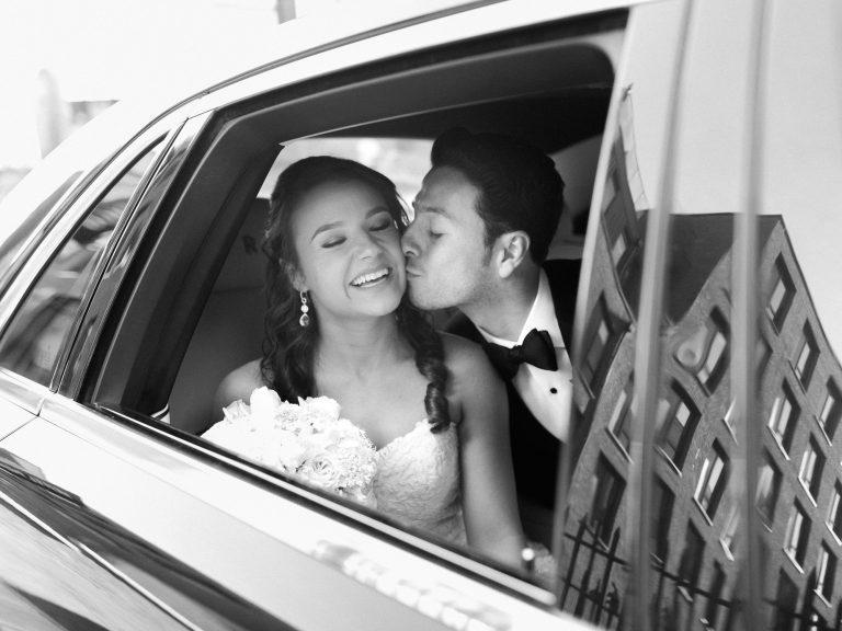 Elegant black tie wedding by UK Fine art wedding photographer - photo
