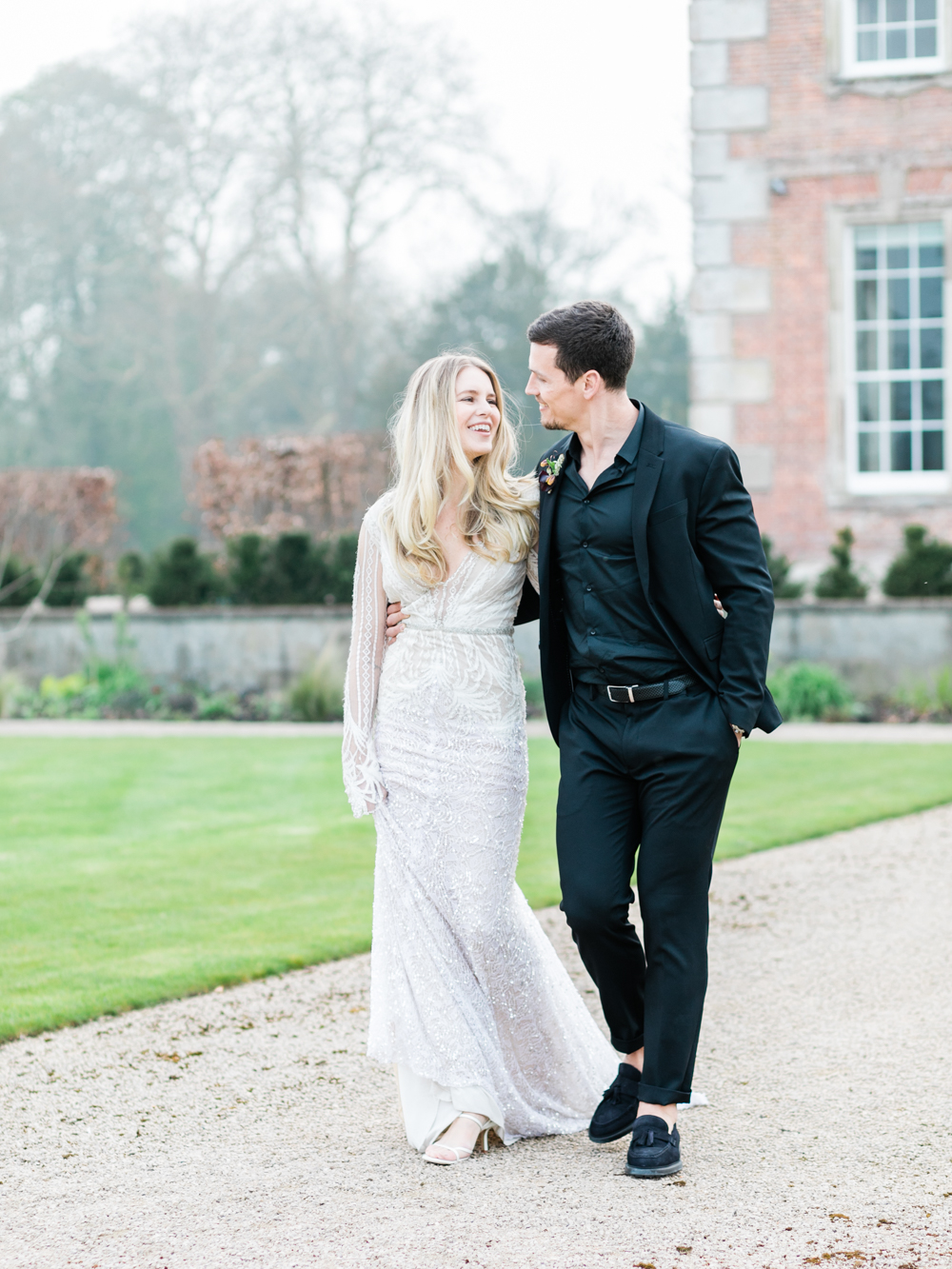 Country house wedding in the UK photo