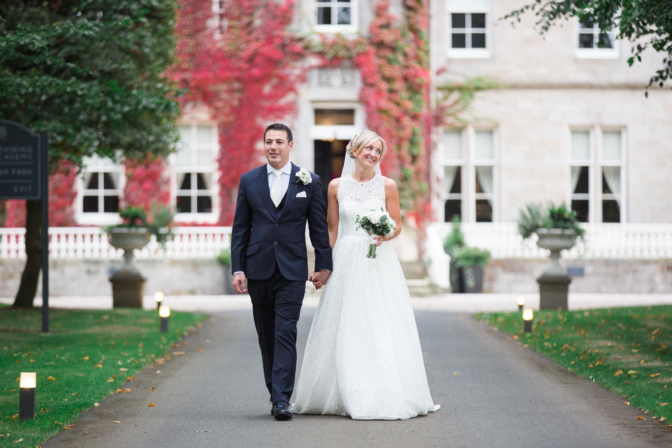 An Elegant wedding at Carlowrie Castle in Edinburgh