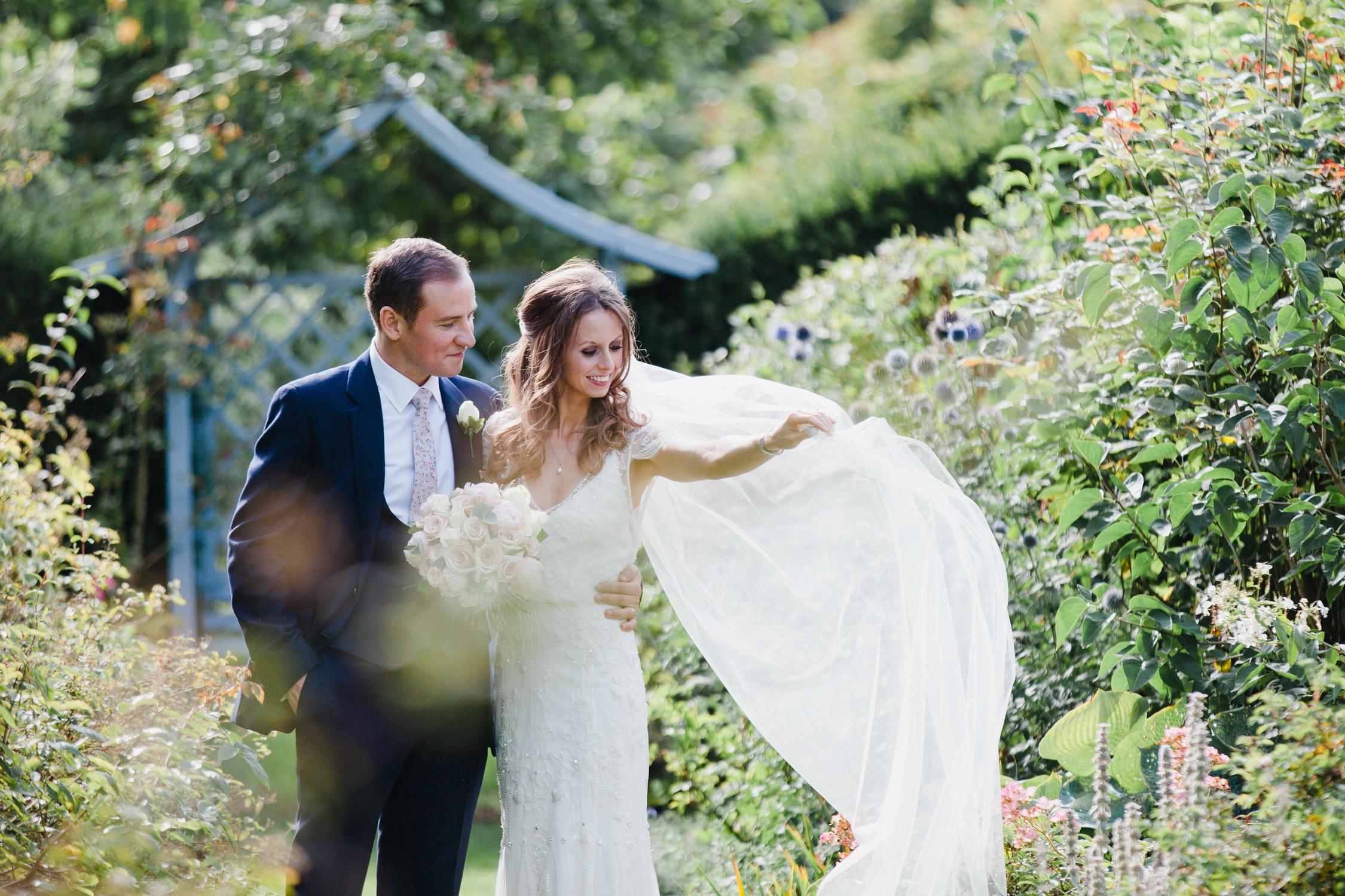 Dorfold Hall wedding for a Jenny Packham bride.