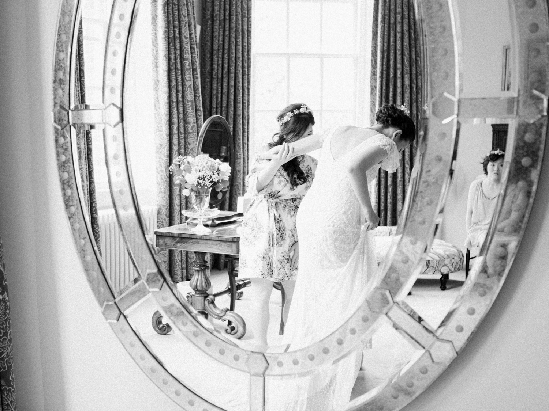 Bridal Preparations at Iscoyd Park