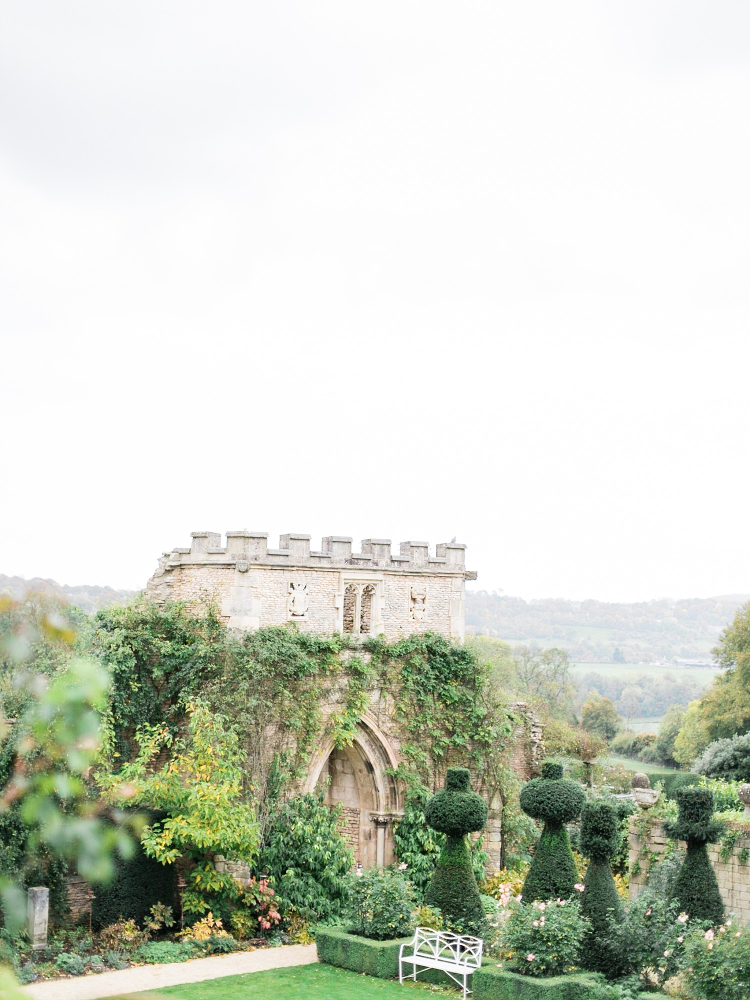 Landscape at the The Lost Orangery in the Cotswolds Wedding Venue