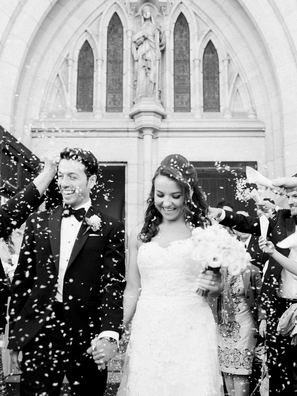 Black Tie Wedding at St Werburgh's Church in Chester - photo