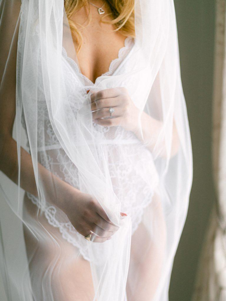 Fine art bridal boudoir photography in the UK